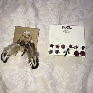 Other - KOOL EARRING BUNDLE